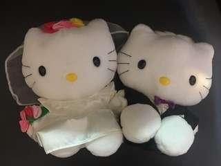 麥當勞 Macdonald's Hello Kitty and Daniel 哈囉吉蒂 丹尼爾 結婚公仔
