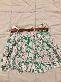 Green Floral Lauren Conrad Skirt
