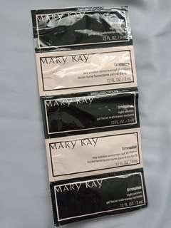 Mary Kay Timewise Sunscreen and Night Cream samples