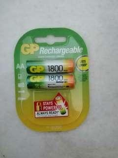 GP AA Battery Recharageable 1800mAH
