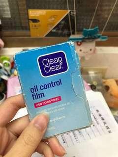 Clean&clear吸油面紙