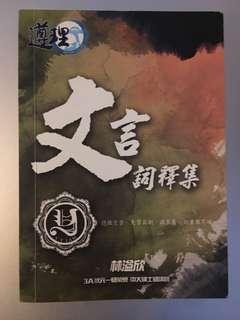 [包郵]YY Lam 文言詞釋集 2013