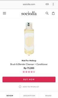 Brush Cleanser Cleaner Mad For Makeup