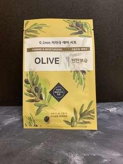 ETUDE HOUSE Therapy Air Olive Mask