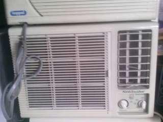 1hp window type aircon