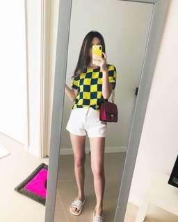 Yellowblue top