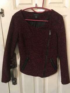 Knit Jacket Crop Jacket