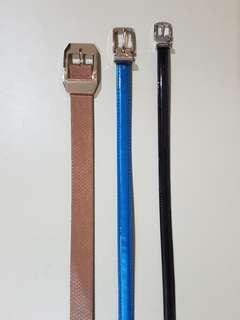 Pre-loved belts bundle