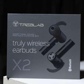 Treblab X2 | Beryllium Sport True Wireless Earbuds