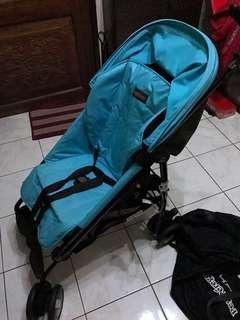 Peg Perego Mini Pliko with Bag (Pristine Condition)