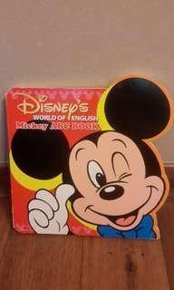 Disney's World of English Mickey ABC Book 迪士尼