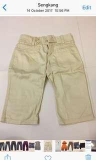 🚚 Poney Beige 3/4 pants