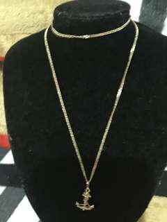18k 22 inches gold