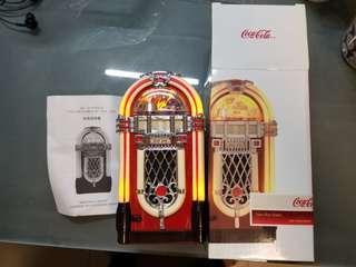 Coke Radio 古典收音機 有燈 收藏品