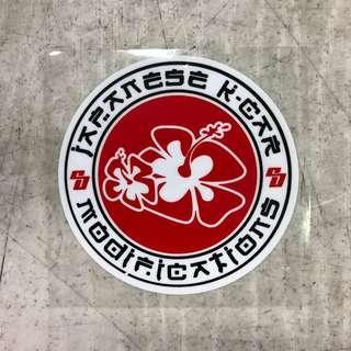 Japanese Kcar Modification sticker