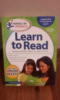 Hooked on Phonics for First Grade Ages 6-7 (Levels 5 & 6) Learn to Read