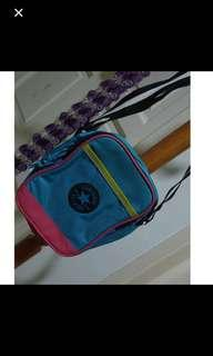 Authenic Converse sling bag