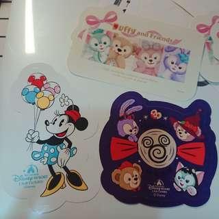 香港迪士尼貼紙 Hkdisney  hkdl 上海迪士尼貼紙  minnie mouse halloween 米妮 gelatoni duffy stellalou