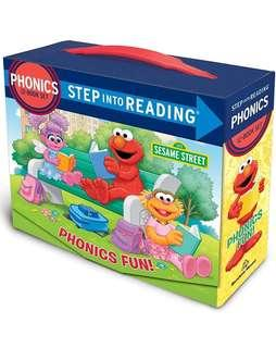 🚚 (Pre-Order)  Phonics Fun! (Sesame Street: Step Into Reading)