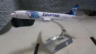 Egypt Air Airlines B-737 800 Model Display Miniature Diecast *detailed *beautiful *flight collectors