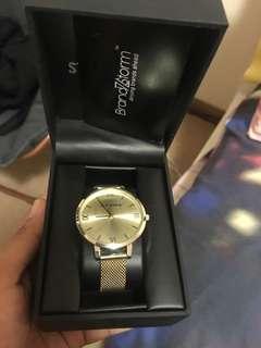 Steve Madden gold watch