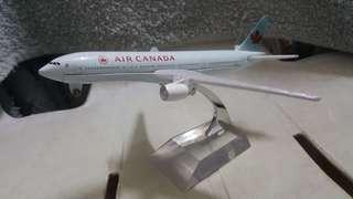 Air Canada Airlines B-777 Model Display Miniature Diecast *detailed *beautiful *flight collectors