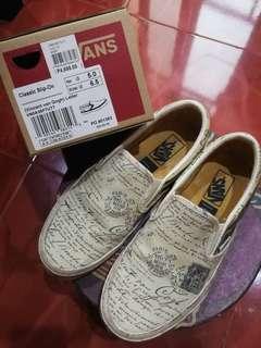 ccc8591abee5 Original Vans Vincent Van Gogh Slip-On Letter