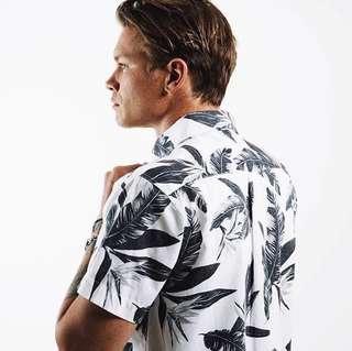 Mr Simple men's short sleeve shirt