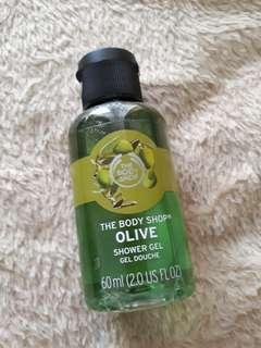 Olive Shower Gel Size Kecil The Body Shop