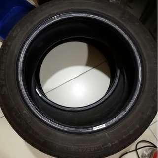 USED SILVERSTONE 15'' TYRE