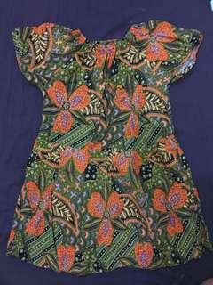 Batik Dress for girls