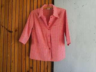 PRE LOVED CHECKERED QTR SLEEVE
