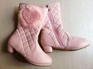 Pink Boots For Kids