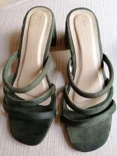 Olive Green Women Sandals