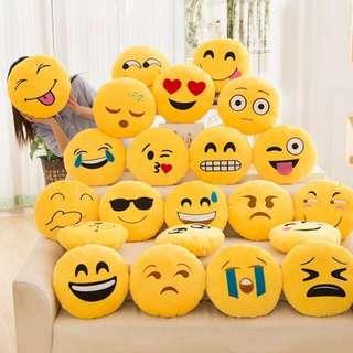 Emoji Pillow Cover/ Different expressions