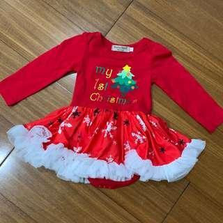 1st Christmas Dress