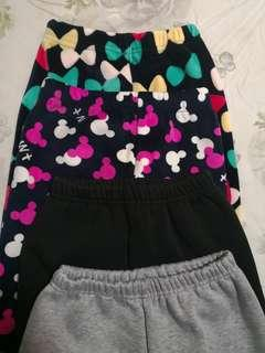 Girl pant thick material for 7-8 yo