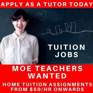 Tuition Jobs | Tuition Assignment | For Part Full Time Tutor