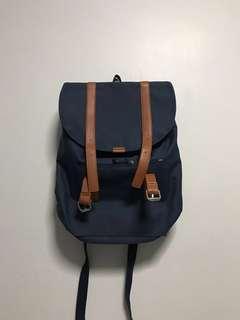 Blue bagpack