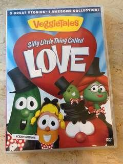 Veggie Tales Silly Little Thing called Love DVD