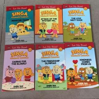 Brand New Let Me Read Singa The Kindness Adventures Collection Storybook Set