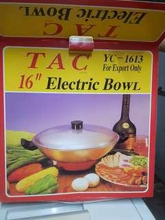 "[BRAND NEW] TAC Japan 16"" Electric Bowl"