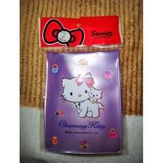 🚚 台版Charmmy Kitty&Sugar吊繩證件套 掛繩 證件夾 卡套卡夾 hello kitty Sanrio三麗鷗