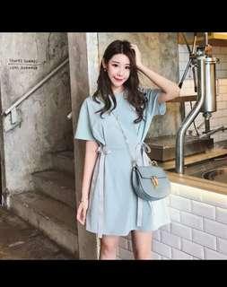 🚚 Sky blue dress