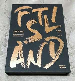 FTIsland 10th Anniversary Album (Over 10 Years)