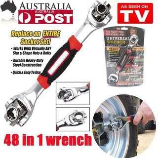 48 in 1 Universal Wrench