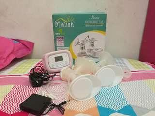 PRELOVED DOUBLE BREASTPUMP MALISH ILARIA