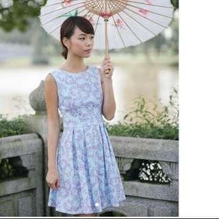 🚚 Lollyrouge Famille Rose Pottery Dress