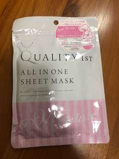 Quality 1st sheet mask 7 day pack