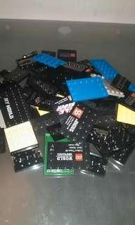 ALT LEGO MINIFIGURE STANDS